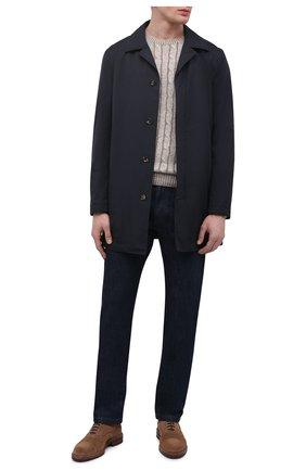 Мужской льняной свитер GRAN SASSO бежевого цвета, арт. 23180/24809 | Фото 2