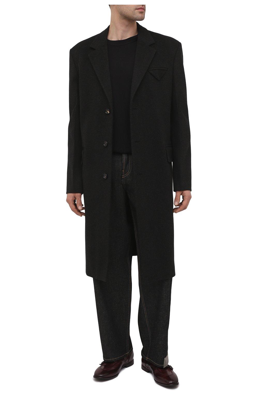 Мужские кожаные монки LEMARGO бордового цвета, арт. DB10A/RANCH | Фото 2