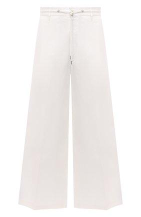 Мужские хлопковые брюки 2 moncler 1952 MONCLER GENIUS белого цвета, арт. G1-092-2A726-00-5499M | Фото 1 (Материал внешний: Хлопок; Длина (брюки, джинсы): Стандартные; Случай: Повседневный; Стили: Минимализм)