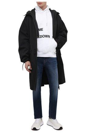 Мужские джинсы DON THE FULLER темно-синего цвета, арт. DHS1/BRIST0L/DTF/G0SS791 | Фото 2