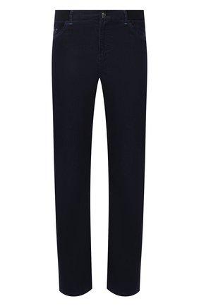 Мужские джинсы ZILLI темно-синего цвета, арт. MCV-00070-ULBL1/R001 | Фото 1