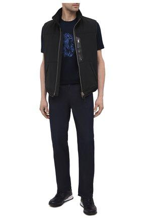 Мужские джинсы ZILLI темно-синего цвета, арт. MCV-00070-ULBL1/R001 | Фото 2
