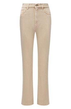 Женские джинсы JACQUEMUS бежевого цвета, арт. 211DE01/124810 | Фото 1
