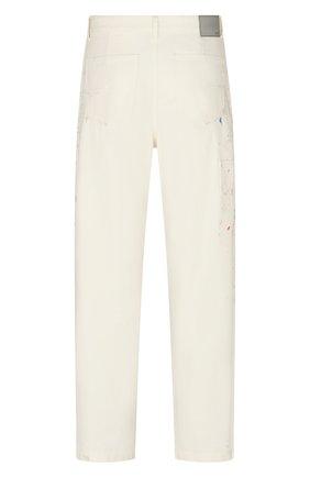 Мужские джинсы DIOR белого цвета, арт. 183D023AY997C070 | Фото 2