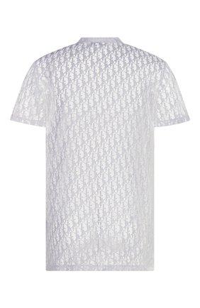 Мужская футболка DIOR белого цвета, арт. 183J652A0537C080 | Фото 2