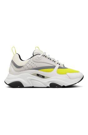 Мужские комбинированные кроссовки b22 DIOR разноцветного цвета, арт. 3SN231YKAH061 | Фото 1
