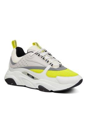 Мужские комбинированные кроссовки b22 DIOR разноцветного цвета, арт. 3SN231YKAH061 | Фото 2