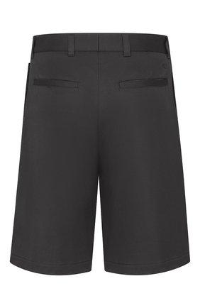 Мужские хлопковые шорты DIOR черного цвета, арт. 033C128A3866C900 | Фото 2