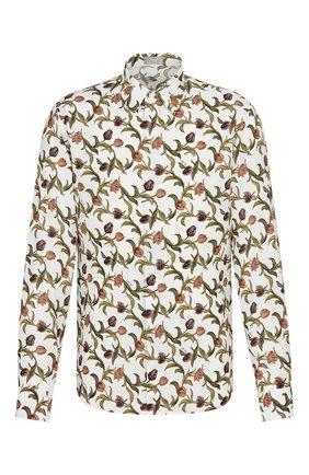 Мужская рубашка из вискозы DIOR разноцветного цвета, арт. 013C501A5134C085 | Фото 1