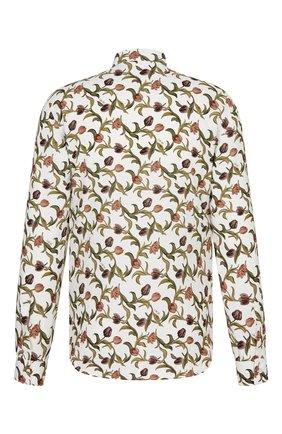 Мужская рубашка из вискозы DIOR разноцветного цвета, арт. 013C501A5134C085 | Фото 2