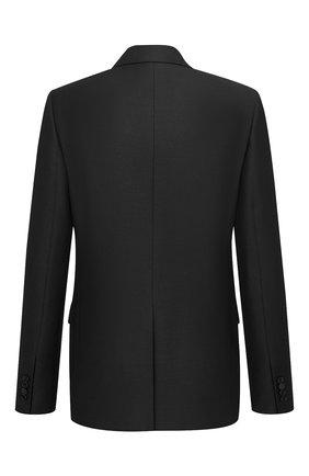 Мужской шерстяной пиджак DIOR черного цвета, арт. 183C203A5113C900 | Фото 2