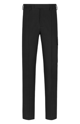 Мужские хлопковые брюки DIOR черного цвета, арт. 183C139A5128C900 | Фото 1