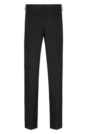 Мужские хлопковые брюки DIOR черного цвета, арт. 183C139A5128C900 | Фото 2