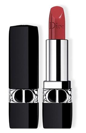 Помада для губ rouge dior satin, 683 рандеву DIOR бесцветного цвета, арт. C017200683 | Фото 1