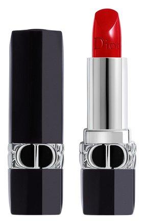 Помада для губ rouge dior satin, 999 DIOR бесцветного цвета, арт. C017200999 | Фото 1