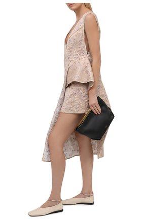 Женское шелковое платье RUBAN розового цвета, арт. RCSS21-11.1.52.0.6 | Фото 2