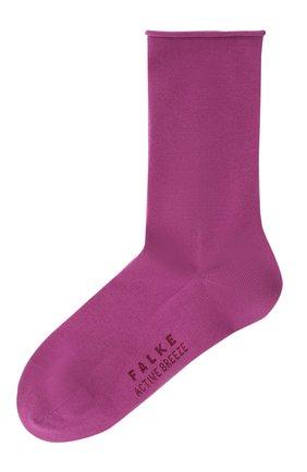 Женские носки FALKE фиолетового цвета, арт. 46125 | Фото 1