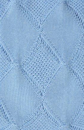 Женские хлопковые носки FALKE голубого цвета, арт. 46407 | Фото 2