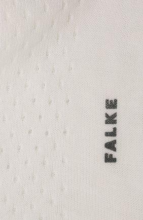 Женские носки FALKE белого цвета, арт. 46409 | Фото 2
