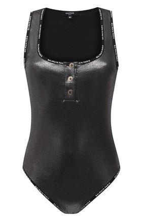 Женское боди BALMAIN черного цвета, арт. BPF0G5150   Фото 1
