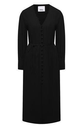 Женское платье ERIKA CAVALLINI черного цвета, арт. S1/P/P1SR08 | Фото 1