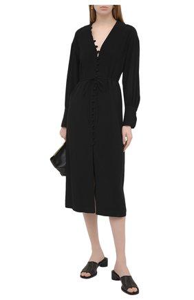 Женское платье ERIKA CAVALLINI черного цвета, арт. S1/P/P1SR08 | Фото 2