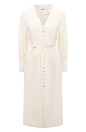 Женское платье ERIKA CAVALLINI кремвого цвета, арт. S1/P/P1SR08 | Фото 1