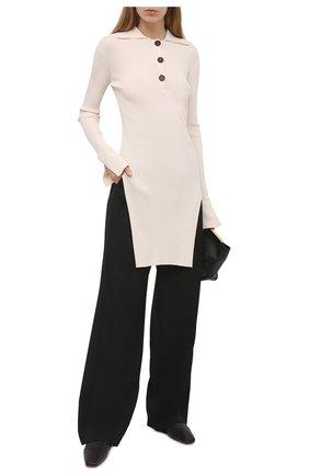 Женский пуловер ERIKA CAVALLINI кремвого цвета, арт. S1/P/P1SB01 | Фото 2