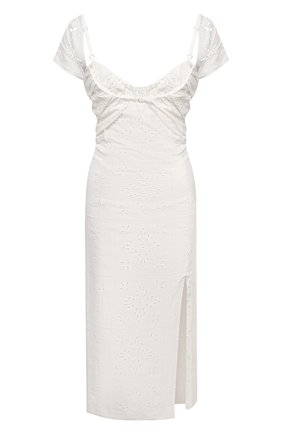 Платье из льна и вискозы | Фото №1