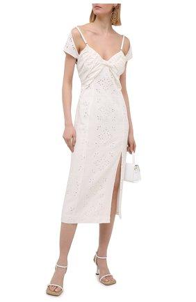 Платье из льна и вискозы | Фото №2