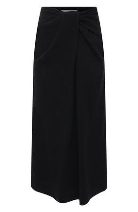 Женская юбка VALENTINO черного цвета, арт. VB0RA7K16B5 | Фото 1