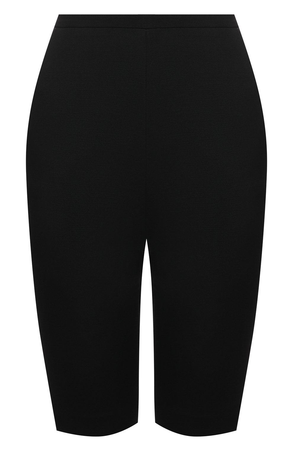 Женские шорты из шерсти и шелка VALENTINO черного цвета, арт. VB0RD0856BS | Фото 1