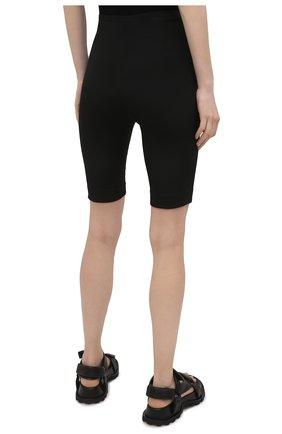Женские шорты из шерсти и шелка VALENTINO черного цвета, арт. VB0RD0856BS | Фото 4