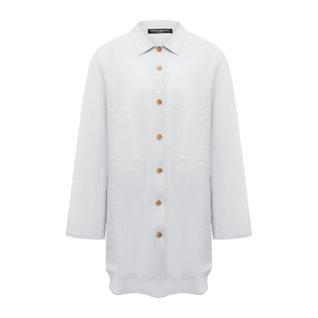 Рубашка из вискозы и льна Pietro Brunelli