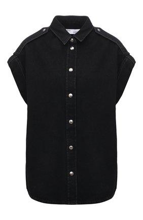 Женский джинсовый жилет IRO черного цвета, арт. WM18ANGLIA | Фото 1