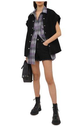 Женский джинсовый жилет IRO черного цвета, арт. WM18ANGLIA | Фото 2