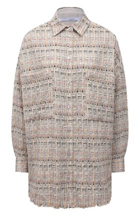 Женская рубашка IRO бежевого цвета, арт. WP100LUKIA | Фото 1
