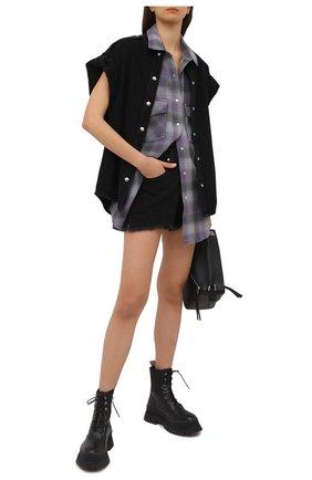 Женский шерстяной жилет IRO сиреневого цвета, арт. WP18D0NE | Фото 2
