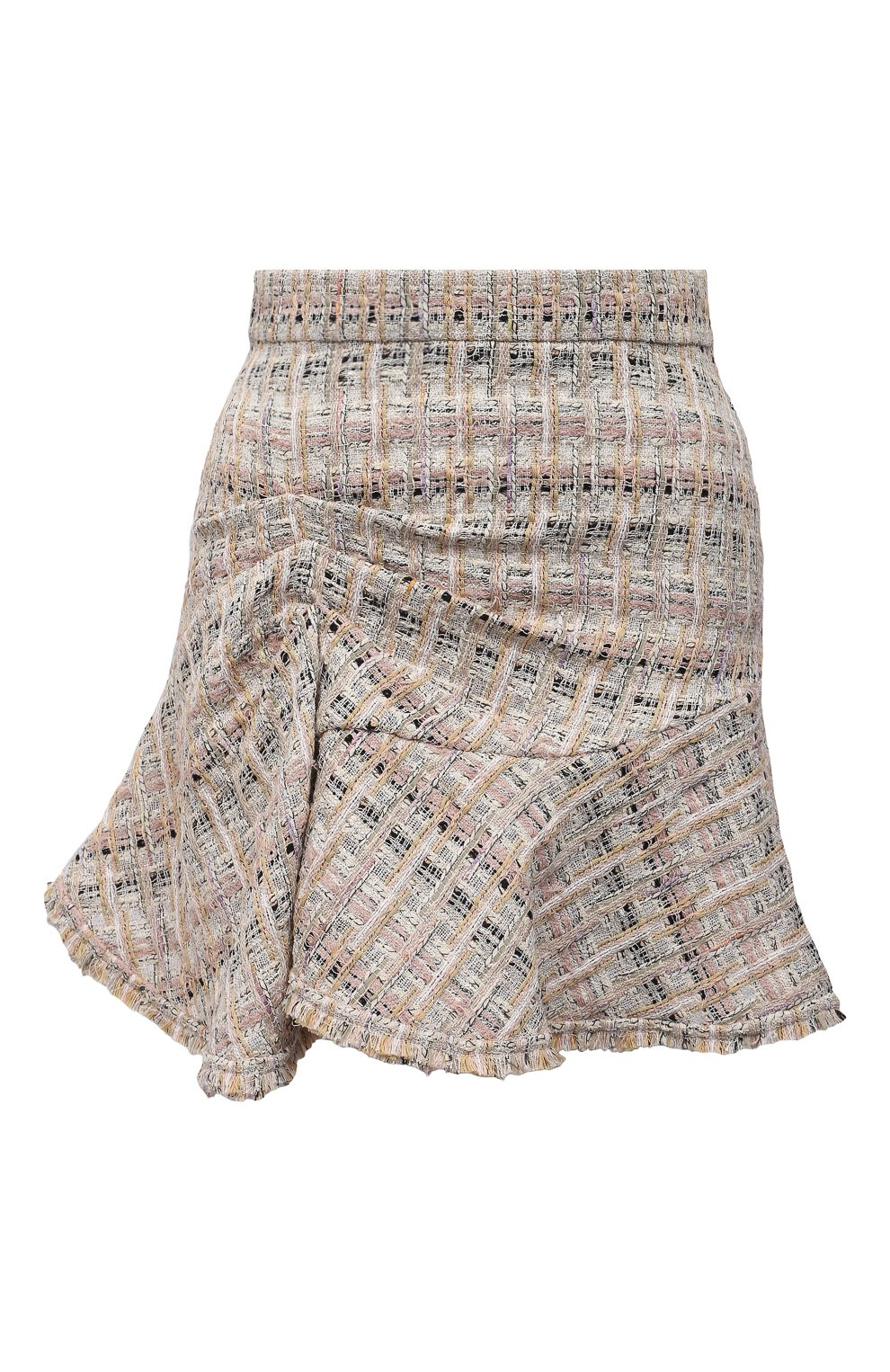 Женская юбка из хлопка и вискозы IRO бежевого цвета, арт. WP31SIBELA | Фото 1