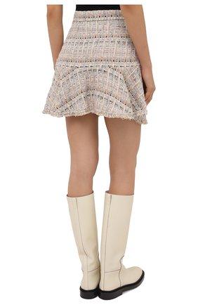 Женская юбка из хлопка и вискозы IRO бежевого цвета, арт. WP31SIBELA | Фото 4