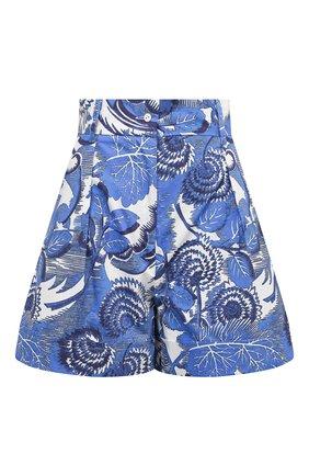 Женские хлопковые шорты TAK.ORI голубого цвета, арт. PTT82031C0100SS21 | Фото 1