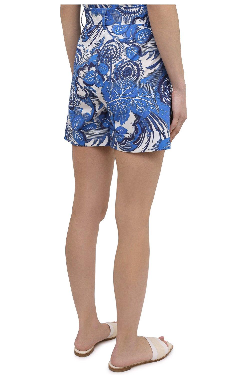 Женские хлопковые шорты TAK.ORI голубого цвета, арт. PTT82031C0100SS21 | Фото 4