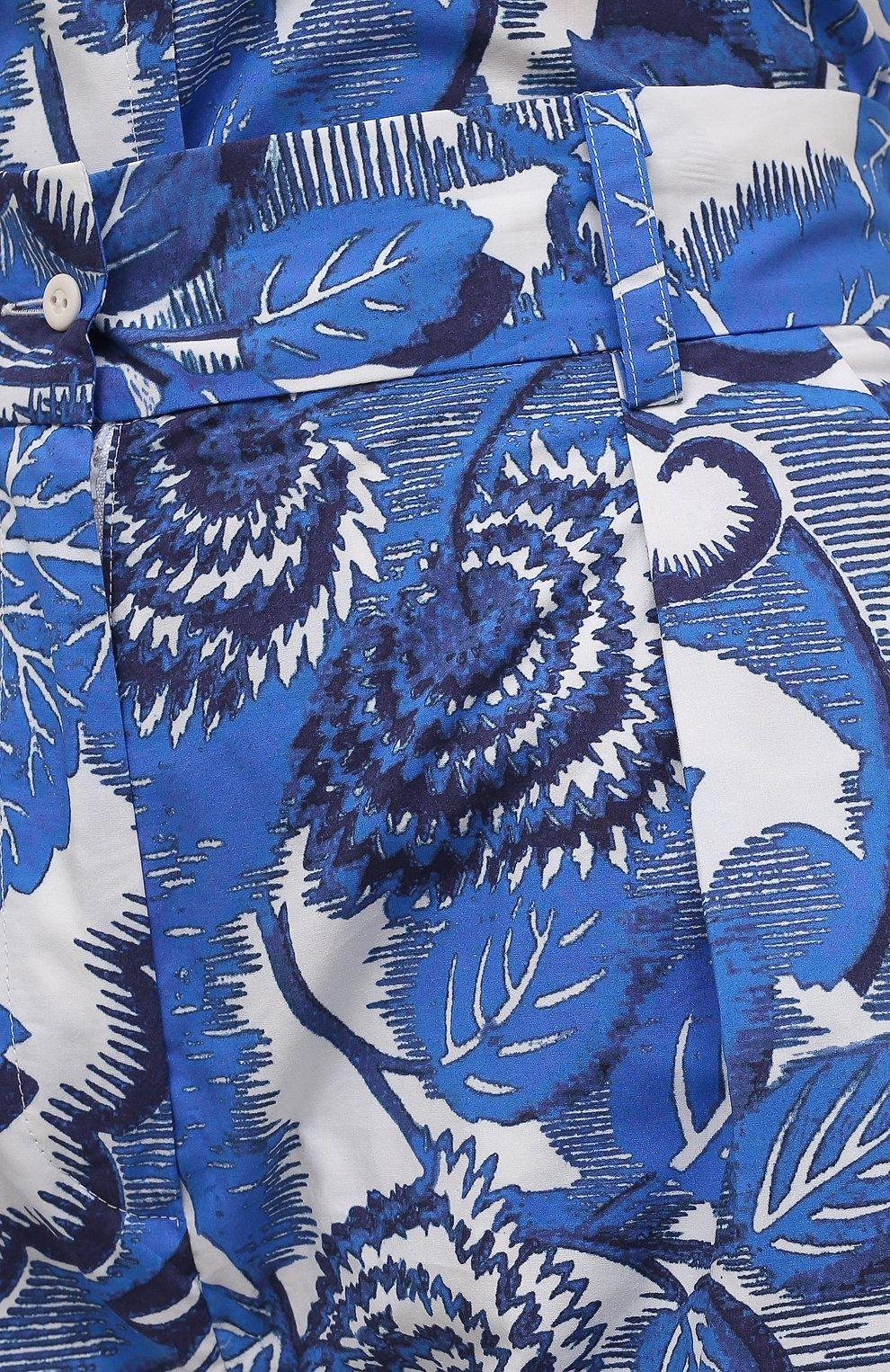 Женские хлопковые шорты TAK.ORI голубого цвета, арт. PTT82031C0100SS21 | Фото 5