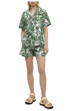 Женские хлопковые шорты TAK.ORI разноцветного цвета, арт. PTT82031C0100SS21 | Фото 2