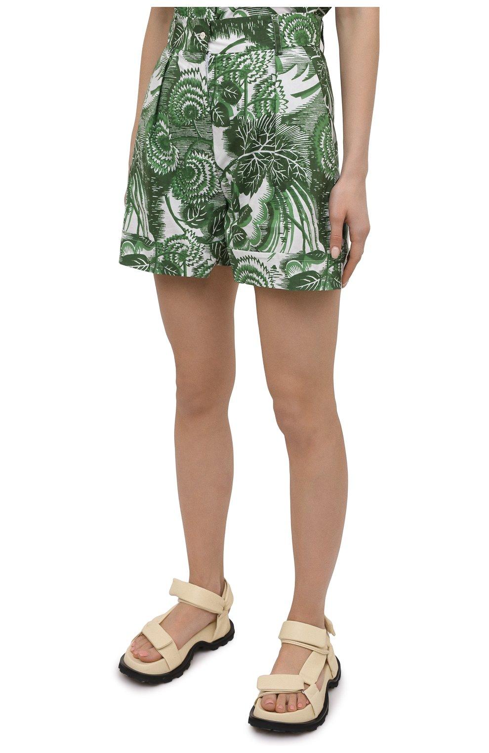 Женские хлопковые шорты TAK.ORI разноцветного цвета, арт. PTT82031C0100SS21 | Фото 3