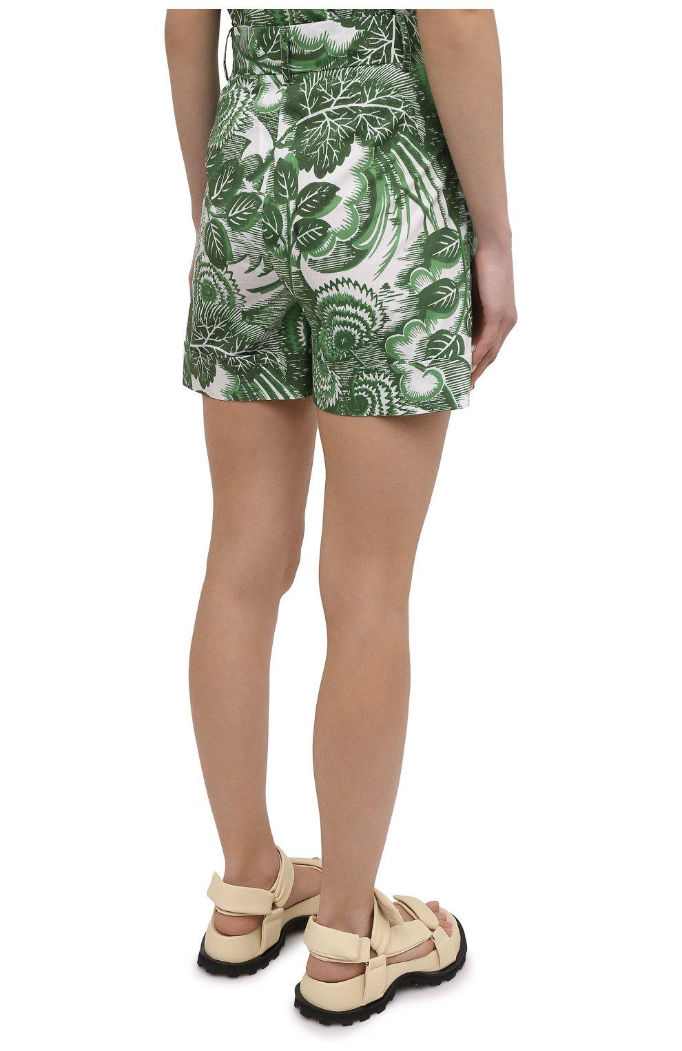 Женские хлопковые шорты TAK.ORI разноцветного цвета, арт. PTT82031C0100SS21 | Фото 4