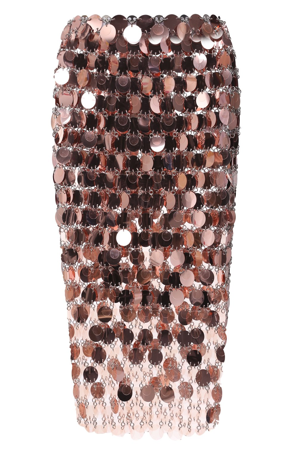 Женская юбка PACO RABANNE розового цвета, арт. 21PIJU195PS0138   Фото 1