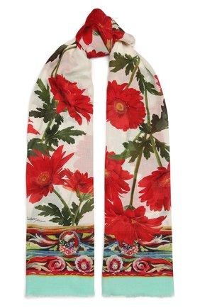 Женский шарф DOLCE & GABBANA разноцветного цвета, арт. FS184A/G3SD5 | Фото 1