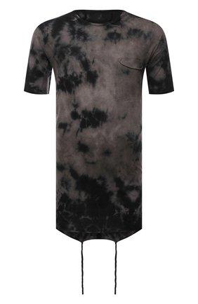 Мужская хлопковая футболка MASNADA темно-серого цвета, арт. M2672   Фото 1