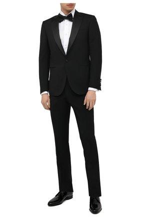 Мужская хлопковая сорочка VAN LAACK белого цвета, арт. RIVARA-DTF/130872 | Фото 2 (Длина (для топов): Стандартные; Рукава: Длинные; Материал внешний: Хлопок; Принт: Однотонные; Стили: Классический; Манжеты: Под запонки; Случай: Вечерний; Воротник: Акула; Рубашки М: Regular Fit)